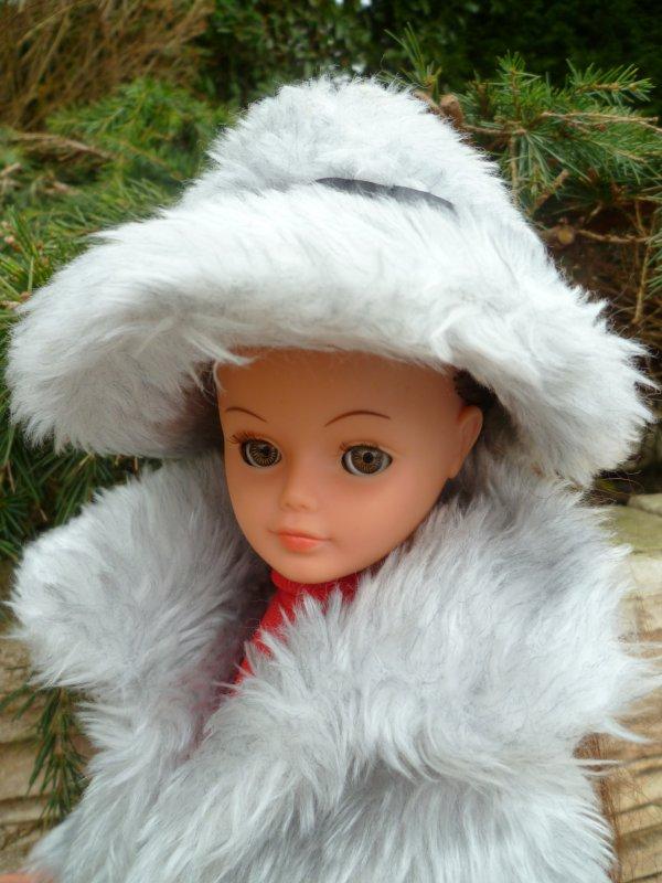 Avec le froid annoncé..cathie va ressortir ses fourrures!