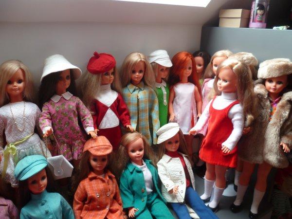 Mes Betsie ont sauté de leur étagères!
