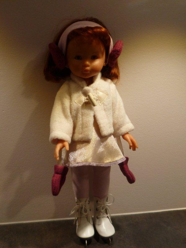 Clara patine aussi!