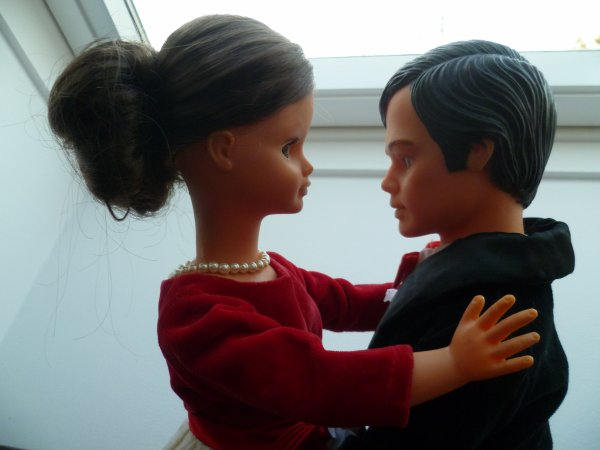 Saint Valentin...Cathie et Jerry sont amoureux..
