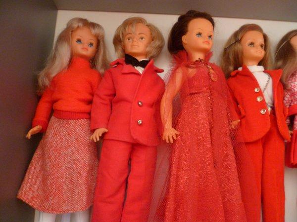 La Ronde des Rouges..Cathie aussi!