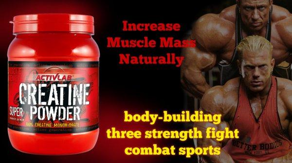 Creatine Powder 500g increase muscle mass 03437511221
