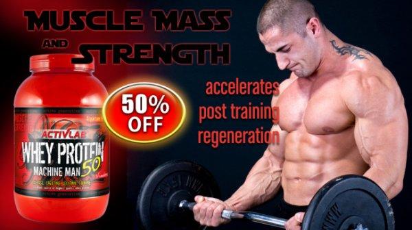 Whey Protein Machine Man 50 1500g in pakistan 03437511221