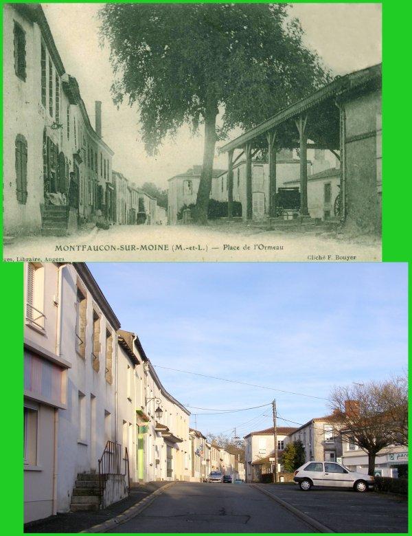 Montfaucon sur Moine, Photo d'hier..., photo d'aujourd'hui... (17)