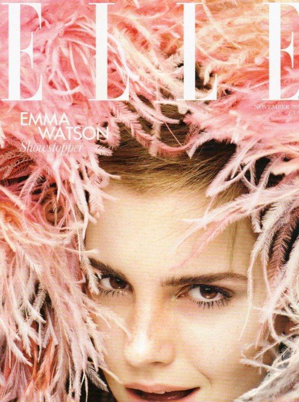 - Emma Watson en Couverture de ELLE UK + News vidéode The Perks of Being a Wallflower + Vidéo Harry Potter 7 Part 2  -