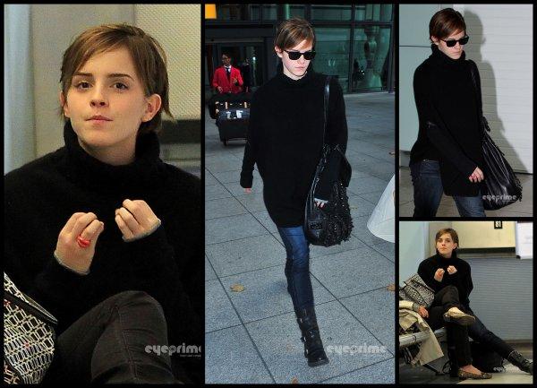 Emma Watson New scan ELLE uk + Nouvelle vidéo du Photoshoot + Emma aperçus à Londre le 03.10.11 -