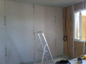 pose des rails laine de roche et plaques de ba13 blog de mikit gradignan maison17. Black Bedroom Furniture Sets. Home Design Ideas
