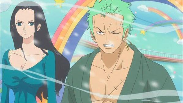 Fiction Zoro x Robin (1)