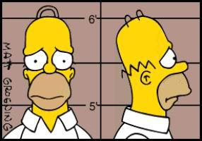 Homer Simpson La Ville Des Simpsons