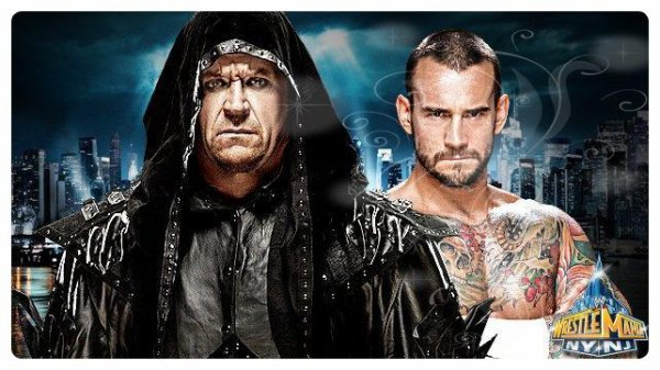 WrestleMania 29 - Undertaker vs CM PUNK