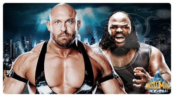 WrestleMania 29 - Ryback vs MARK HENRY