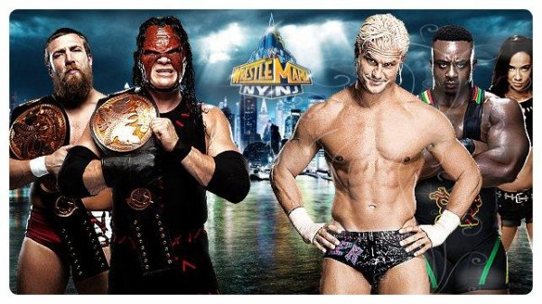 WrestleMania 29 - WWE Tag Team Championship, TEAM HELL NO vs Dolph Ziggler & Big E Langston