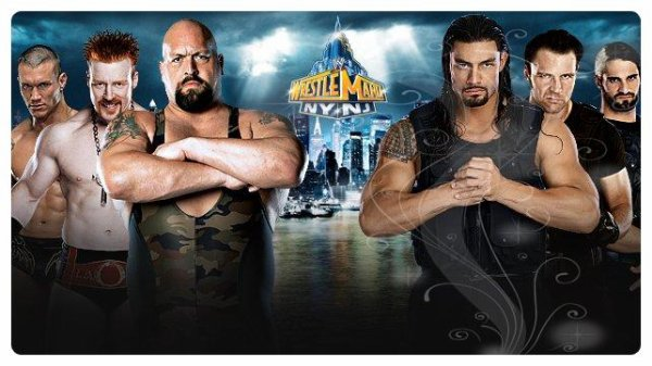 WrestleMania 29 - RANDY ORTON, SHEAMUS & BIG SHOW vs The Shield