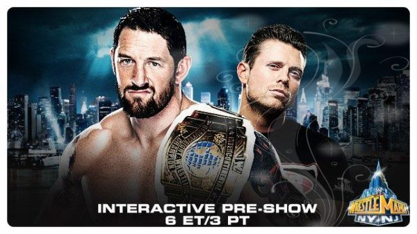 WrestleMania 29 - Intercontinental Championship, Wade Barrett vs THE MIZ / Interactive Pre-Show Match