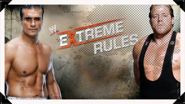 "Extreme Rules 2013 - ""I Quit"" Match, ALBERTO DEL RIO vs Jack Swagger"