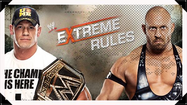 Extreme Rules 2013 - Last Man Standing Match, WWE Championship, JOHN CENA vs Ryback