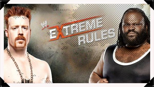 Extreme Rules 2013 - Strap Match, Sheamus vs Mark Henry
