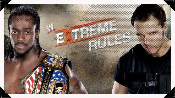 Extreme Rules 2013 - United States Championship, KOFI KINGSTON vs Dean Ambrose