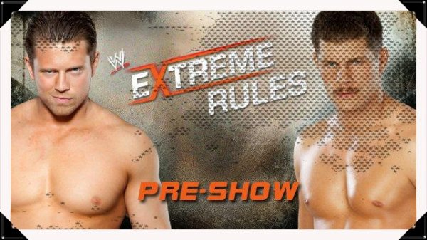 Extreme Rules 2013 - THE MIZ vs Cody Rhodes / Pre-Show