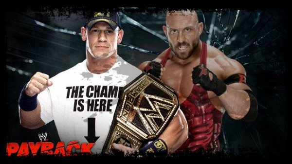 Payback 2013 - WWE Championship, JOHN CENA vs Ryback / Three Stages of Hell Match