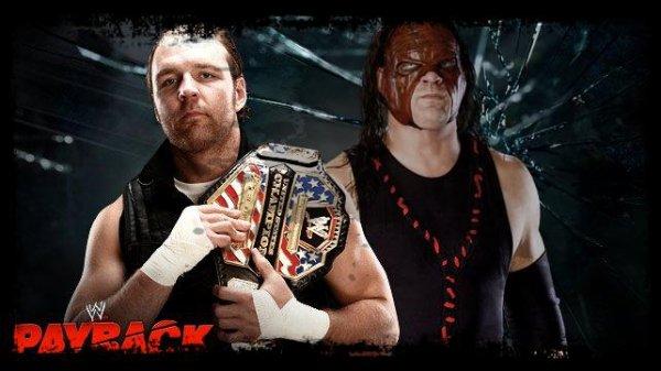 Payback 2013 - United States Championship, Dean Ambrose vs KANE