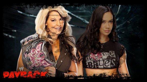 Payback 2013 - Divas Championship, Kaitlyn vs AJ LEE