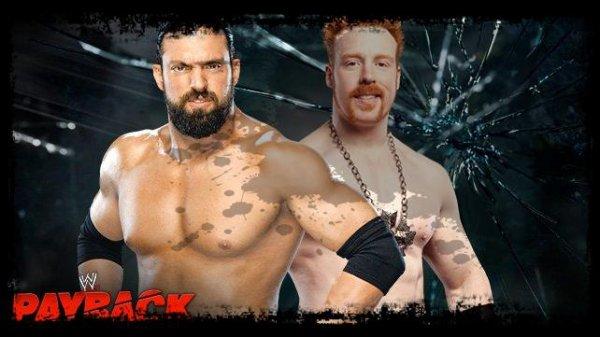 Payback 2013 - Special Kickoff to Payback Match, Sheamus vs Damien Sandow