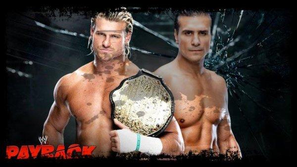 Payback 2013 - World Heavyweight Championship, DOLPH ZIGGLER vs Alberto Del Rio