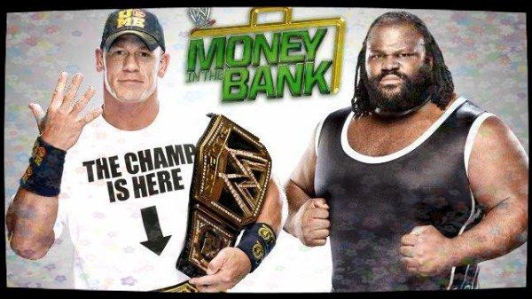 Money in the Bank 2013 - WWE Championship, JOHN CENA vs Mark Henry
