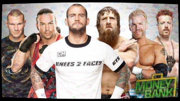 Money in the Bank 2013 - Money in the Bank All-Stars Match, CM Punk vs Daniel Bryan vs Rob Van Dam vs Christian vs Randy Orton vs SHEAMUS