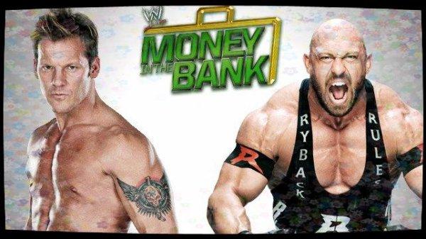 Money in the Bank 2013 - CHRIS JERICHO vs Ryback