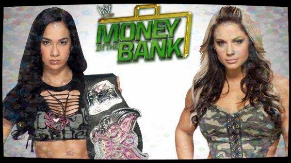 Money in the Bank 2013 - Divas Championship, AJ LEE vs Kaitlyn