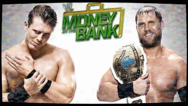 Money in the Bank 2013 - Intercontinental Championship, Curtis Axel vs THE MIZ