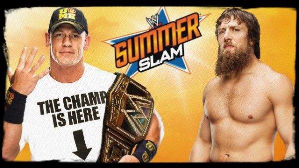 SummerSlam 2013 - WWE Championship, JOHN CENA vs Daniel Bryan