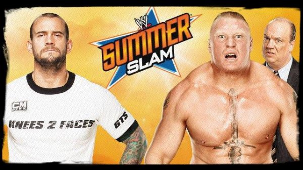SummerSlam 2013 - CM Punk vs BROCK LESNAR