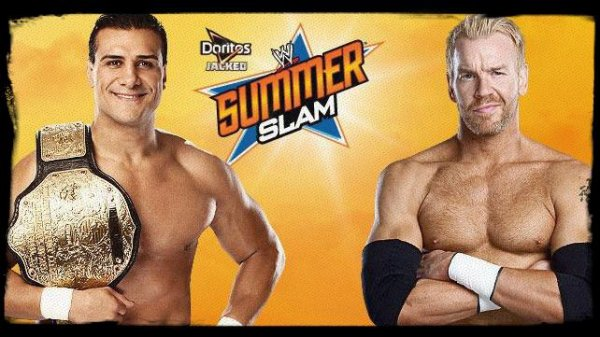SummerSlam 2013 - World Heavyweight Championship, ALBERTO DEL RIO vs Christian