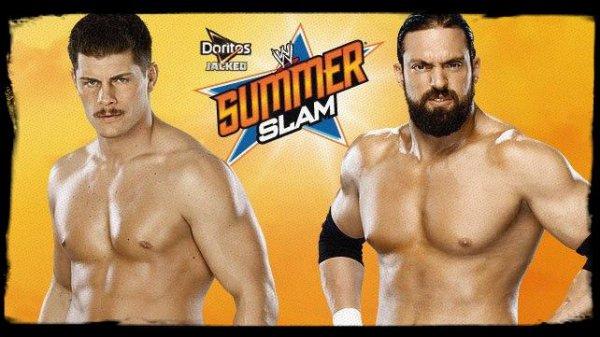 SummerSlam 2013 - CODY RHODES vs Damien Sandow