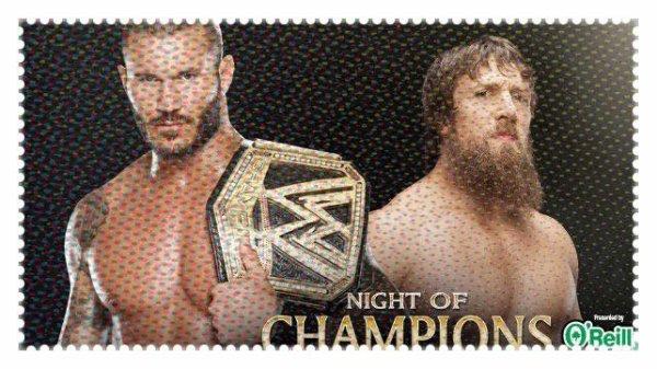 Night of Champions 2013 - WWE Championship, RANDY ORTON vs Daniel Bryan