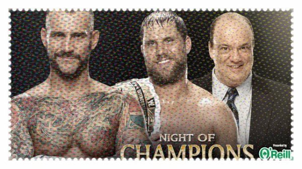 Night of Champions 2013 - Elimination Handicap Match, CM PUNK vs Curtis Axel & Paul Heyman