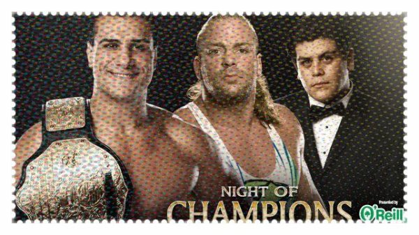 Nght of Champions 2013 - World Heavyweight Championship, ALBERTO DEL RIO vs Rob Van Dam
