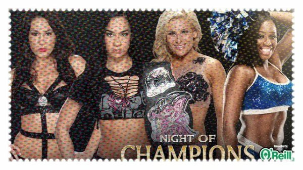 Night of Champions 2013 - Divas Championship, AJ Lee vs NATALYA vs Brie Bella vs Naomi