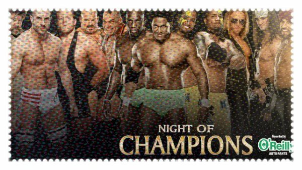 Night of Champions 2013 - The Prime Time Players vs The Usos vs TONS OF FUNK vs The Real Americans vs 3MB / Tag Team Turmoil No. 1 Contender's Match