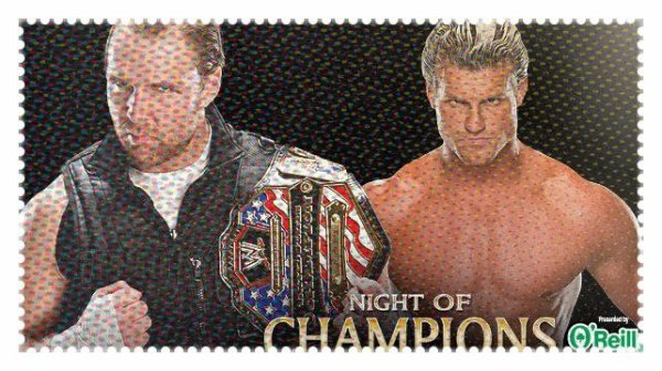 Night of Champions 2013 - United States Championship, Dean Ambrose vs DOLPH ZIGGLER