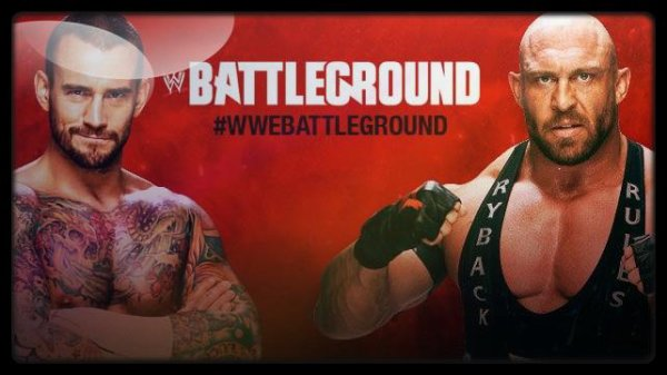 Battleground 2013 - CM Punk vs RYBACK