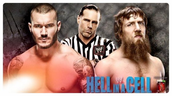 Hell in a Cell 2013 - WWE Championship, DANIEL BRYAN vs Randy Orton / Hell in a Cell Match avec Shawn Michaels en arbitre spécial