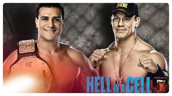 Hell in a Cell 2013 - World Heavyweight Championship, ALBERTO DEL RIO vs John Cena