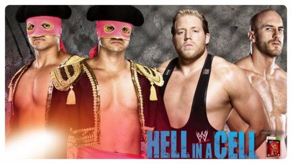Hell in a Cell 2013 - Los Matadores vs THE REAL AMERICANS