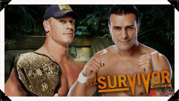 Survivor Series 2013 - World Heavyweight Championship, JOHN CENA vs Alberto Del Rio