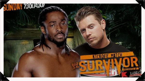 Survivor Series 2013 - Kofi Kingston vs THE MIZ