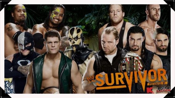 Survivor Series 2013 - CODY RHODES, GOLDUST, THE USOS & REY MYSTERIO vs. The Shield & The Real Americans / Traditional Survivor Series Elimination Tag Team Match